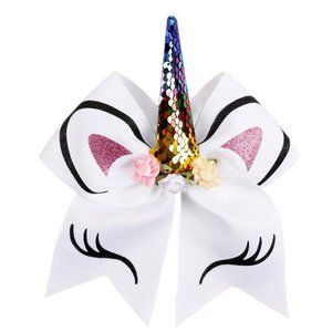 Other - NEW White Unicorn Hair Bow